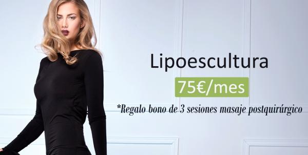 Lipoescultura desde 75€/mes y Bono 3 sesiones masaje postquirúrgico en TodoEstetica.com
