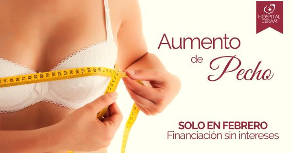 AUMENTO DE PECHO FINANCIACION SIN INTERESES