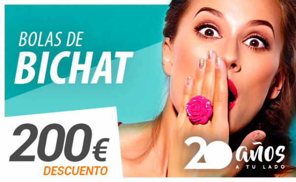 200€ de descuento en Bolas de Bichat