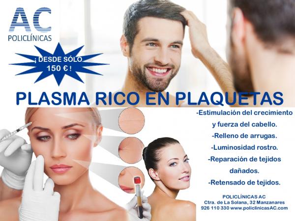 PLASMA RICO EN PLAQUETAS: UN TRATAMIENTO SENCILLO CON GRANDES RESULTADOS