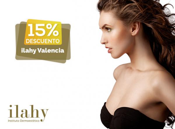 Bienvenido a ilahy VALENCIA. 15% de descuento en cirugía y medicina estética avanzada
