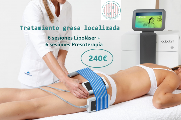 Tratamiento corporal para grasa localizada. en TodoEstetica.com