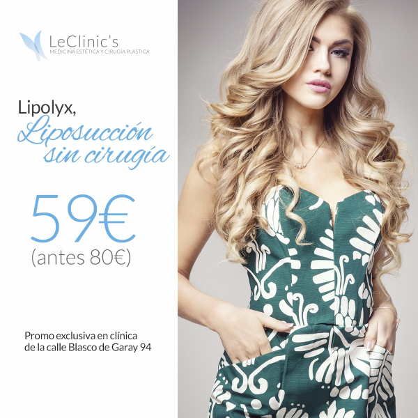 Lipolyx, Liposucción Sin Cirugía