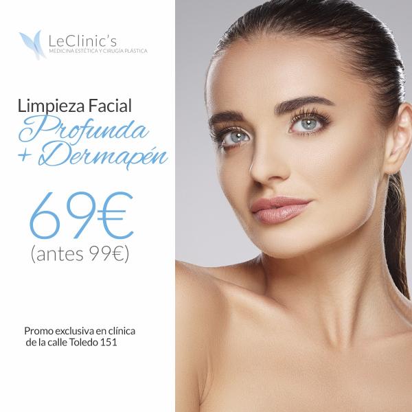 Limpieza Facial Profunda + Dermapen en TodoEstetica.com