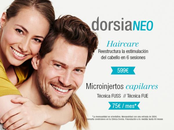 Microinjertos Capilares técnica FUSS y FUE - DorsiaNeo, Unidad de Microinjertos Capilares desde 3.500