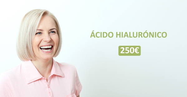 250 € Vial de Acido Hilaurónico Máxima calidad