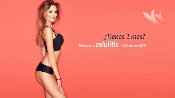 Especial celulitis, Reduce hasta el 80% de la celulitis en un mes. Reservando 2 sesiones le regalamos la 3ª, precio por sesión 80€.