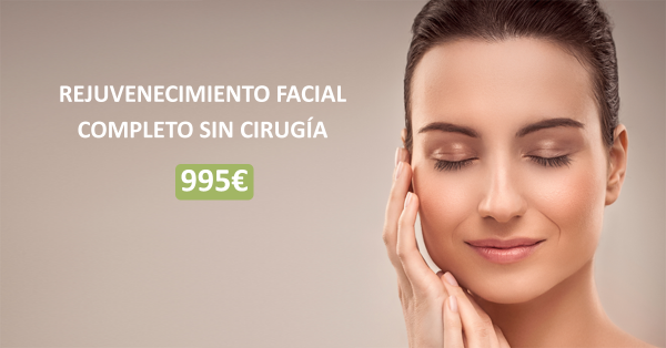 Rejuvenecimiento facial completo 995 €