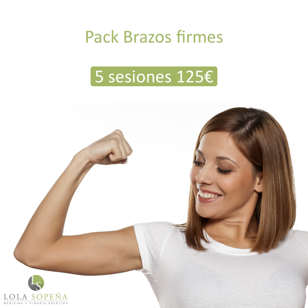 Brazos firmes pack 5 sesiones + 1 por 125 €