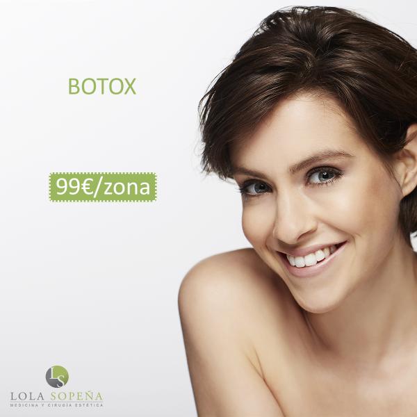 99 € Botox ( 1 zona)