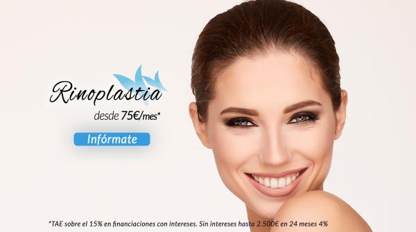 Rinoplastia desde 75€/mes en TodoEstetica.com