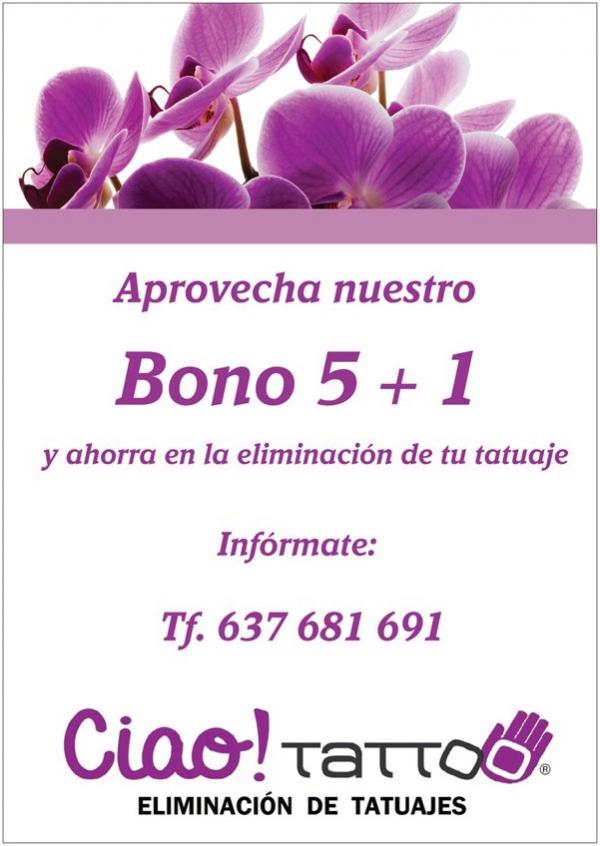 Bono sesiones 5+1 en TodoEstetica.com