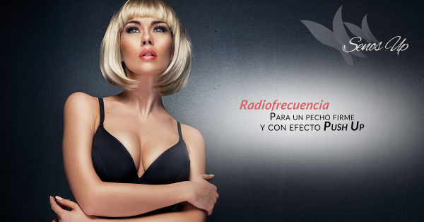 Radiofrecuencia senos up 40€/sesión en TodoEstetica.com