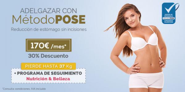 ilahy, te ayuda ayudamos a adelgazar con Método POSE en TodoEstetica.com