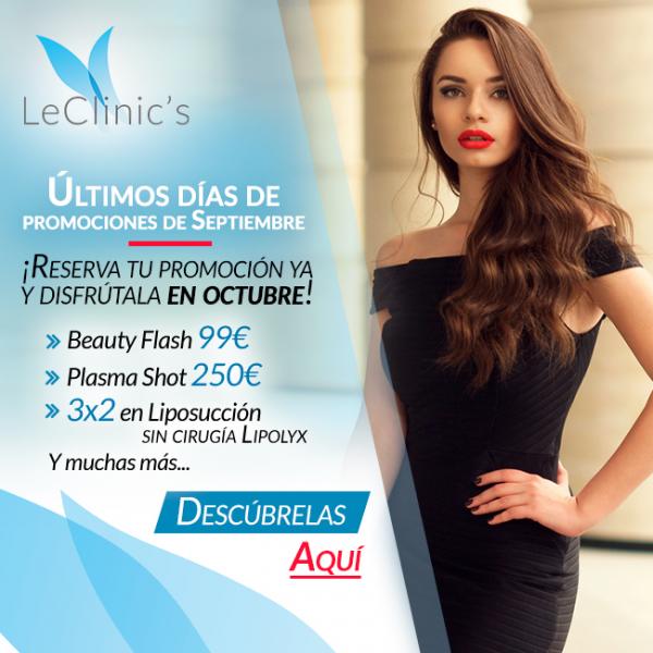 Reserva tu promo de septiembre y disfrutala en octubre en TodoEstetica.com