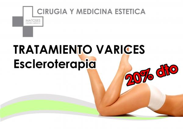 ESCLEROTERAPIA - TRATAMIENTO VARICES en TodoEstetica.com