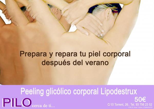 Peeling glicóligo corporal 50€