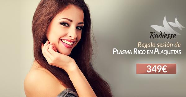 Radiesse + Regalo de sesión Plasma Rico en Plaquetas 349€