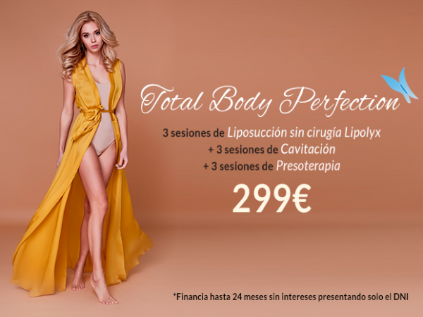 Total Body Perfection 299€ ( antes 699€) en TodoEstetica.com