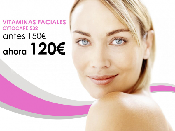 VITAMINAS FACIALES CYTOCARE 532