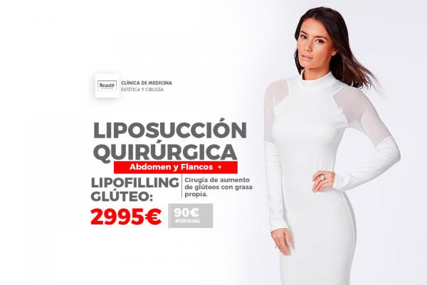 LIPOSUCCION QUIRURGICA CON REGALO DE LIPOFILLING