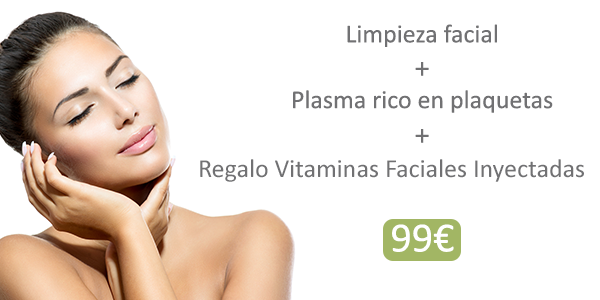 Sólo en el centro de Ferraz nº 9 - Limpieza facial + PRP + Vitaminas 99 €