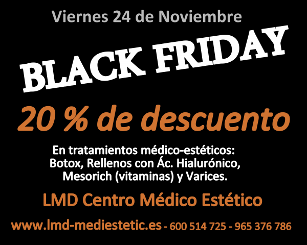 BLACK FRIDAY en TodoEstetica.com