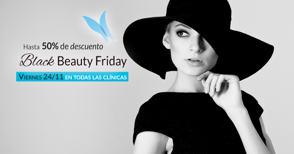 Black Beauty Friday hasta 50% de DESCUENTO