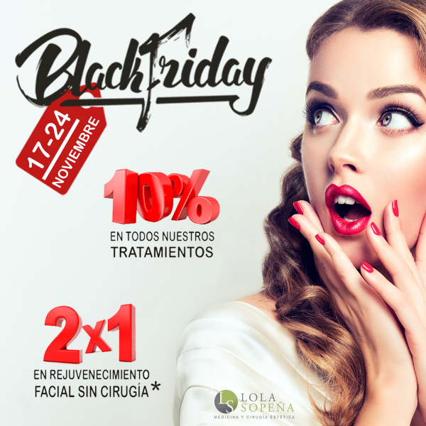 Black Friday en Clínicas Lola Sopeña