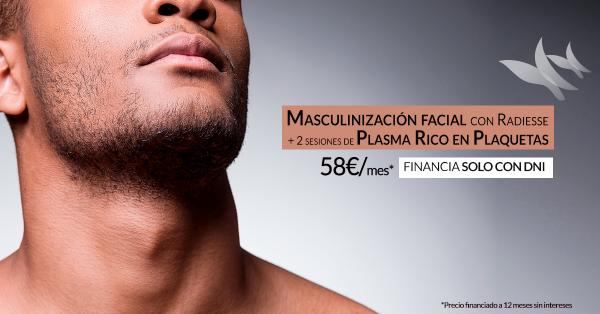 Radiesse +  2 sesiones de Plasma Rico en Plaquetas desde 58€/mes