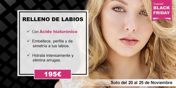 BLACK FRIDAY: Aumento de labios con ácido hialurónico a un precio increíble en TodoEstetica.com