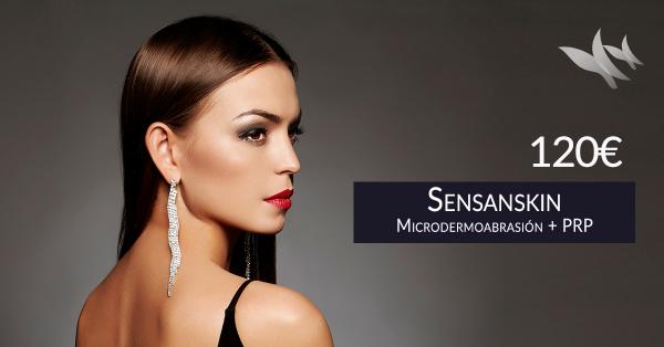 Sensaskin: Microdermoabrasión con Punta de Diamante + sesión de Plasma Rico en Plaquetas – 120€ en TodoEstetica.com