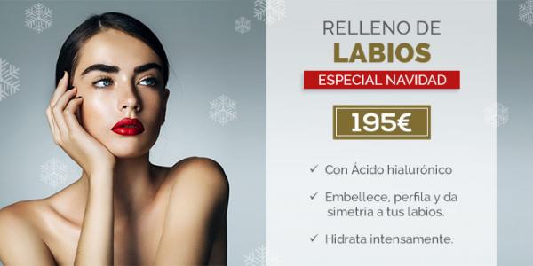 ¡DESLUMBRA ESTA NAVIDAD! : Aumento de labios a un precio increíble en TodoEstetica.com