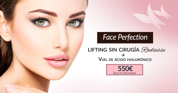Face perfection Vial de ácido hialurónico + lifting sin cirugía Radiesse (1 vial)- 550€