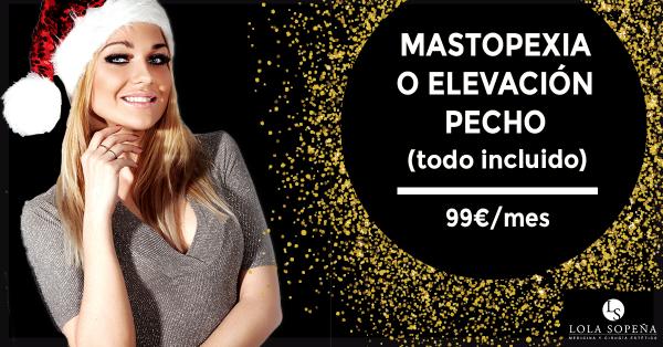 Mastopexia por tan sólo 99€/mes en TodoEstetica.com