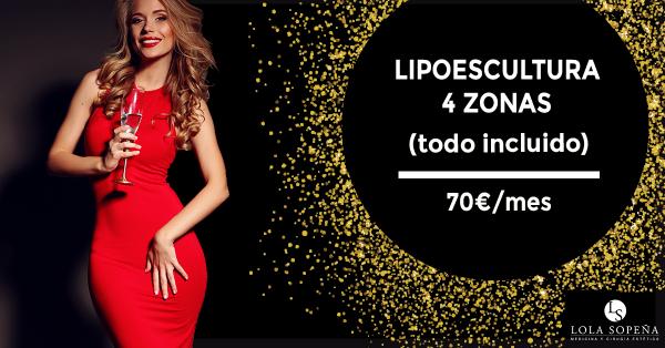 Liposuccion 4 Zonas 2.995 € ( Sólo hasta el 6 de enero) 70 €/ Mes Financiado