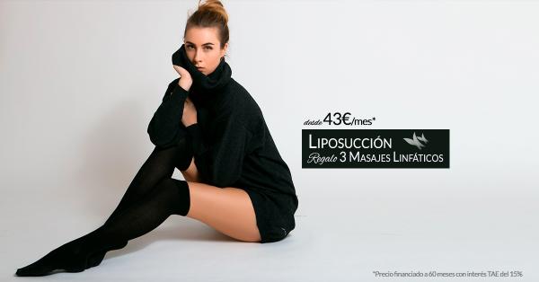 Liposucción desde 43€/mes* en TodoEstetica.com