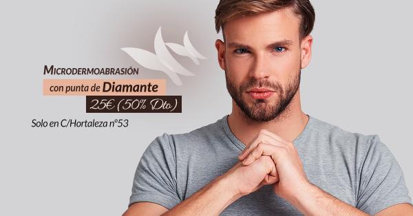 Microdermoabrasión con Punta de Diamante 25€