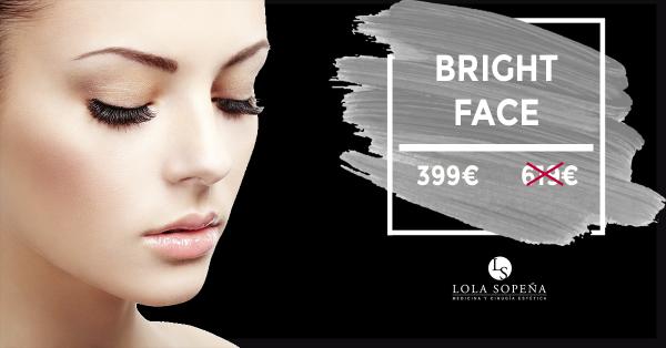 Haz que rostro brille más que nunca por 399 €
