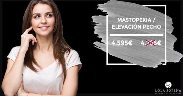 Mastopexia por tan sólo 99€/mes con todo incluido