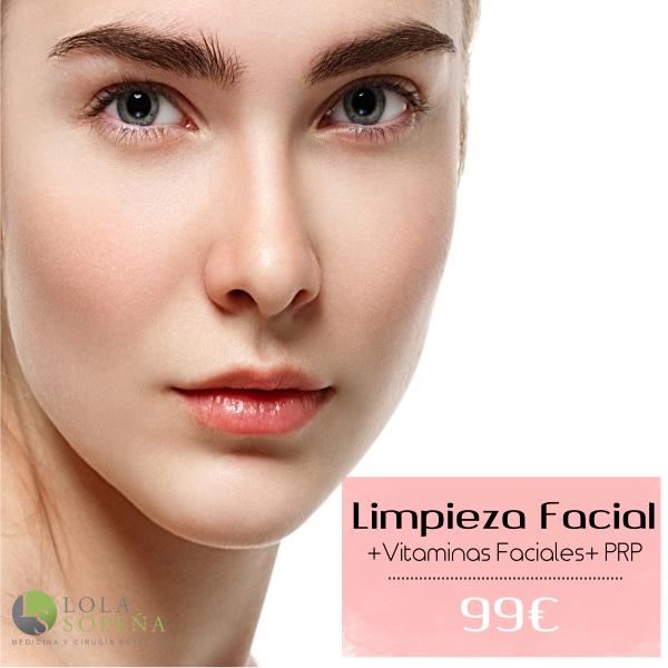 99 €Limpieza facial con punta de diamante + vitaminas faciales infiltradas en TodoEstetica.com