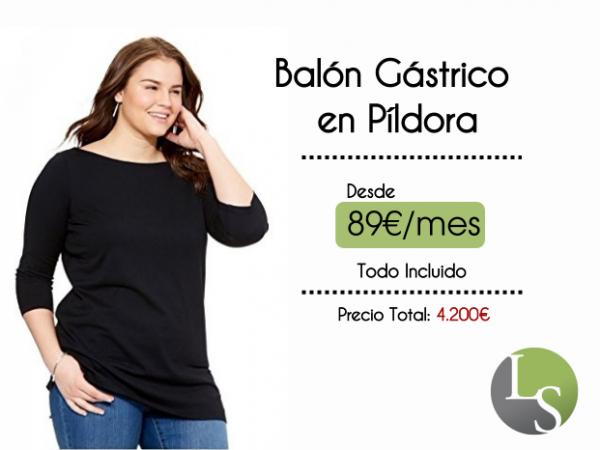 89€ Balón Gástrico en píldora ¡pierde de 15 a 25 kg!