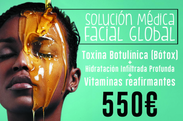 Solución médica facial global por 550€ en TodoEstetica.com