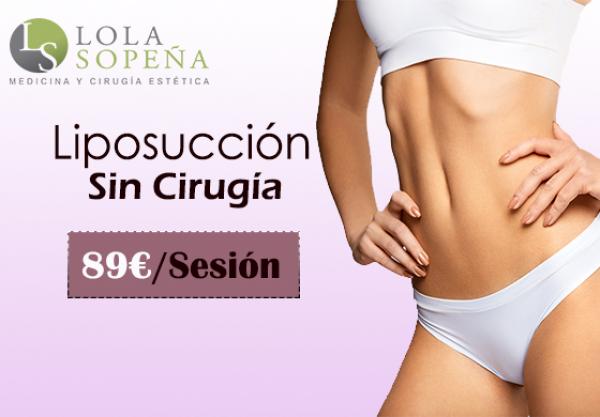 89€/zona Liposucción Sin Cirugía