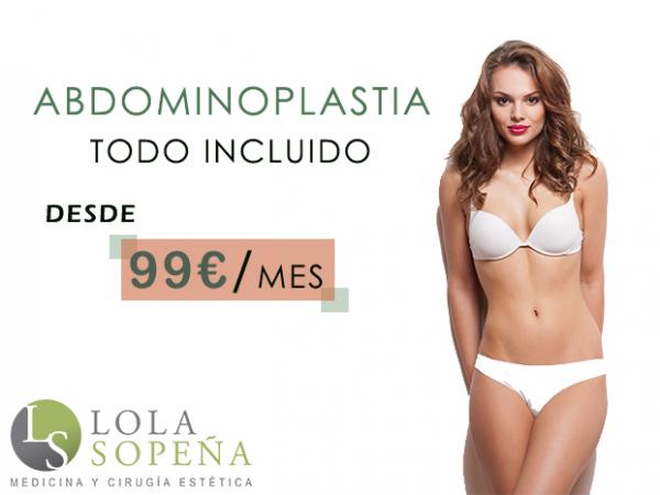 Abdominoplastia desde 99 €/ mes - ¡Todo incluido! en TodoEstetica.com