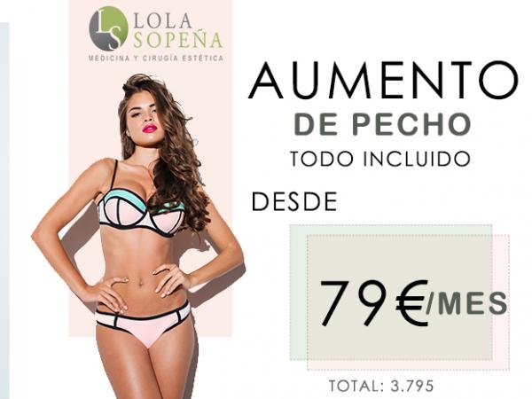 Aumento de Pecho desde 79 €/ mes con Todo Incluido en TodoEstetica.com