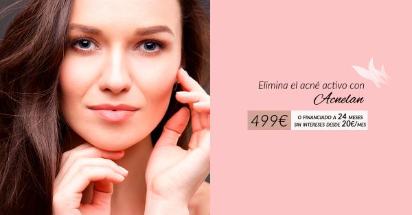 Elimina el acné con Acnelan por tan solo 499€ en TodoEstetica.com