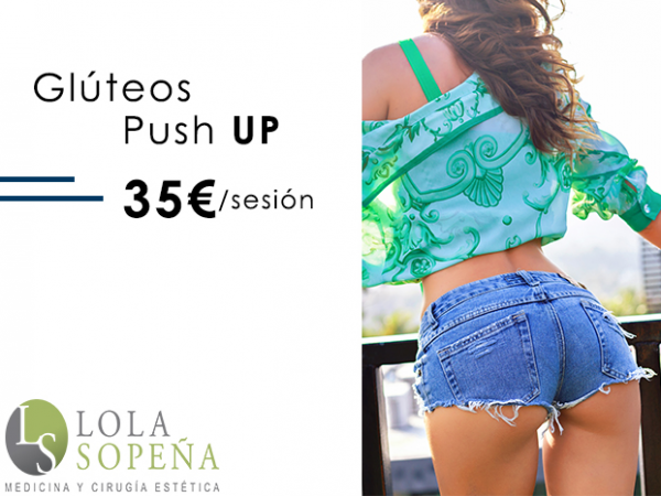 35€/sesión Glúteos Push Up