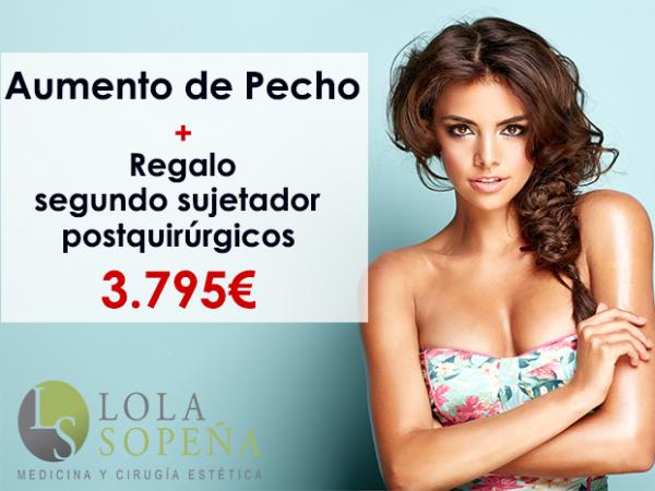 Desde 79€/mes Aumento de Pecho + Regalo Segundo Sujetador Postquirúrgico en TodoEstetica.com