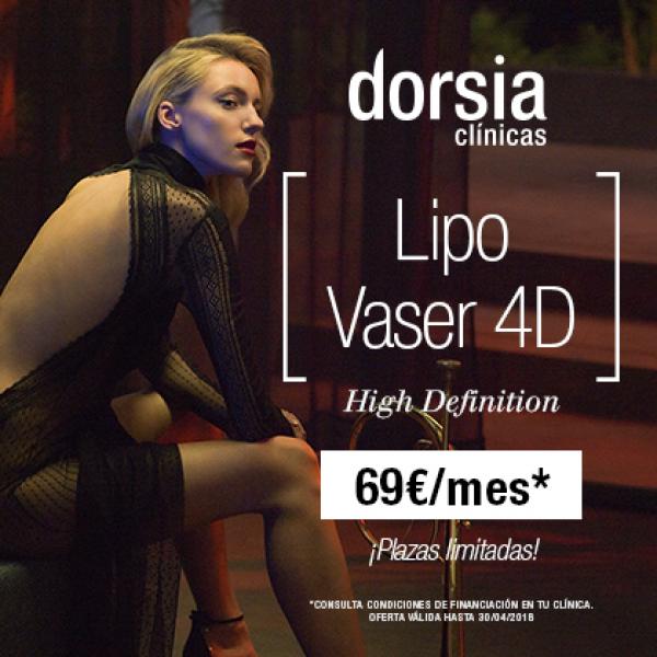 Liporemodelación, la liposucción exclusiva de Dorsia desde 69€ al mes